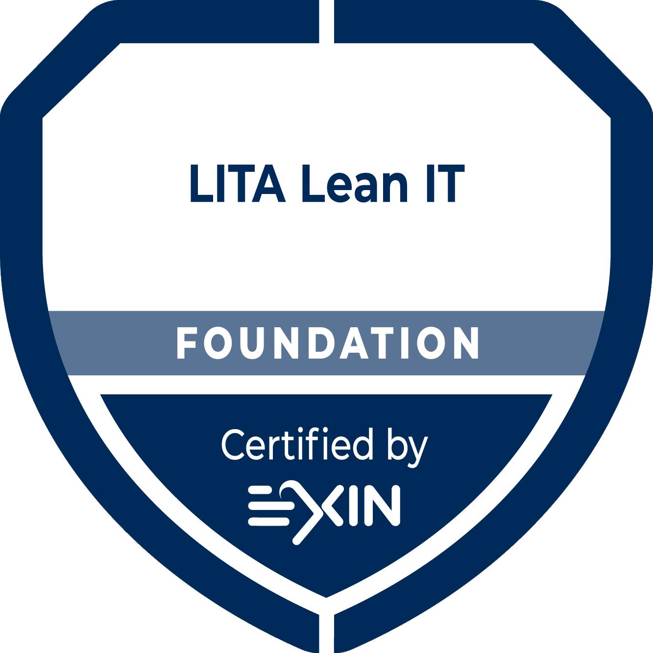 Exame Online - LITA - Lean IT Foundation