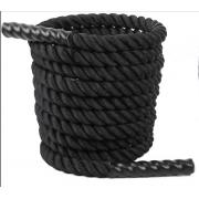 Cabo naval para cross fit / rope trannig - 38mm 10 M com ponteiras