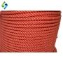 Corda Torcida Vermelha 12mm - Polietileno - 1M