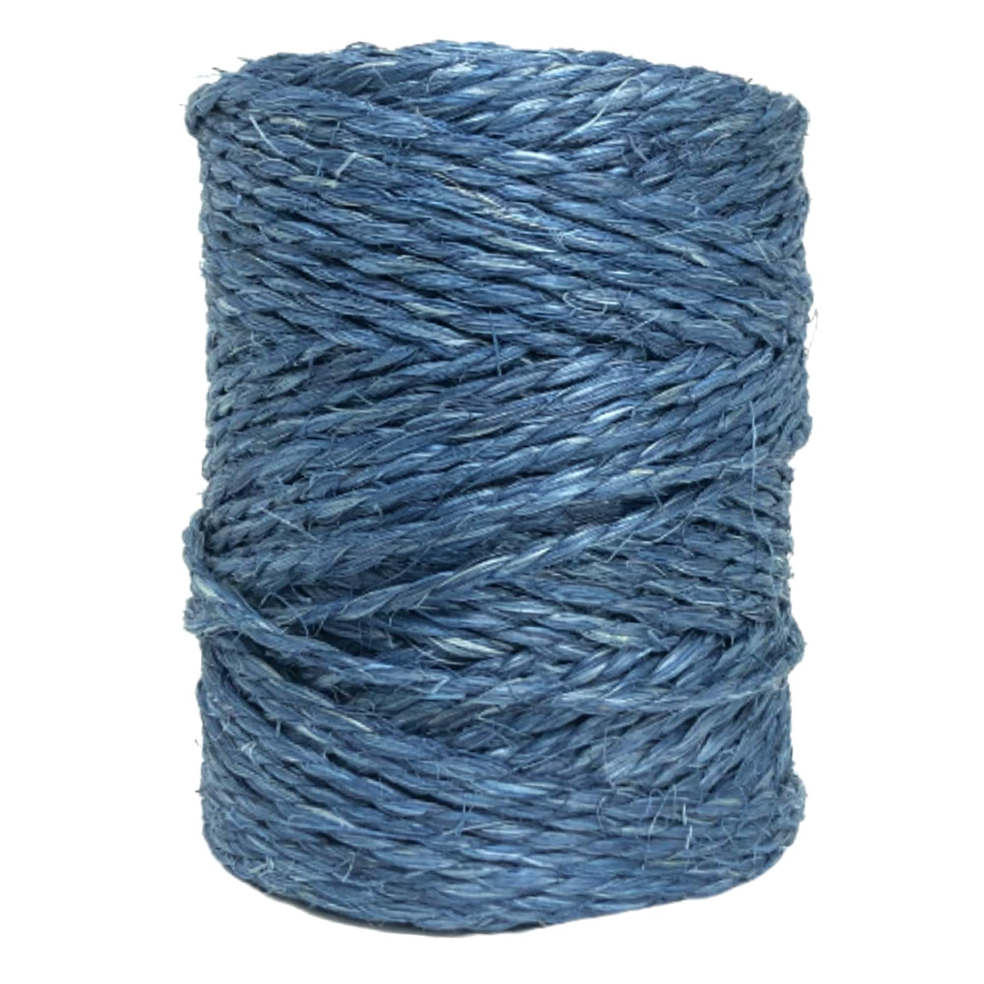 Fio De Sisal Colorido Blue - Rolo Com Aprox 850 M - Aprox 2,5 Kg
