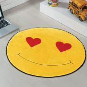 Tapete de Pelúcia Formato Emotion 65cm x 65cm
