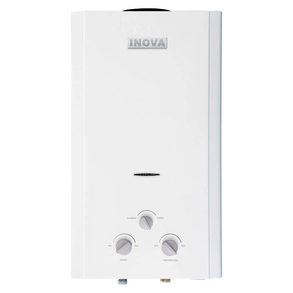 Aquecedor De Água A Gás In-1000 Gn Inova - 10 L/min