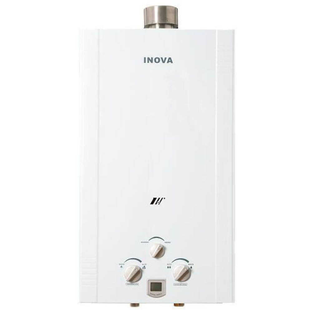 Aquecedor de Água A Gás In-1800EFP GN Inova - 15,5 L/min
