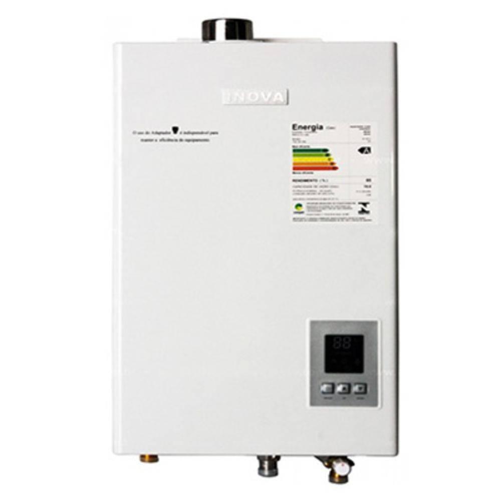 Aquecedor de Água A Gás In-180D Gn Inova - 17,5 L/min