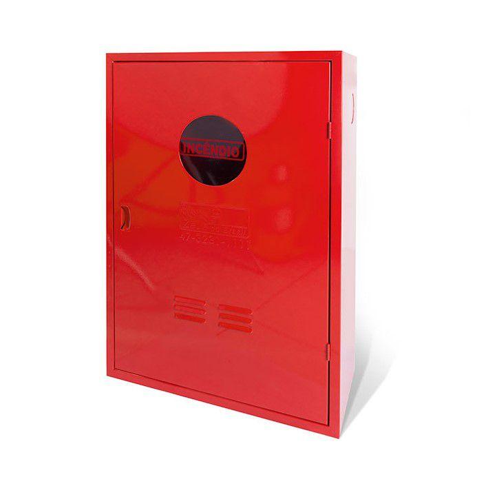 Caixa Metálica de Mangueira 90x60x17  Sobrepor com Visor