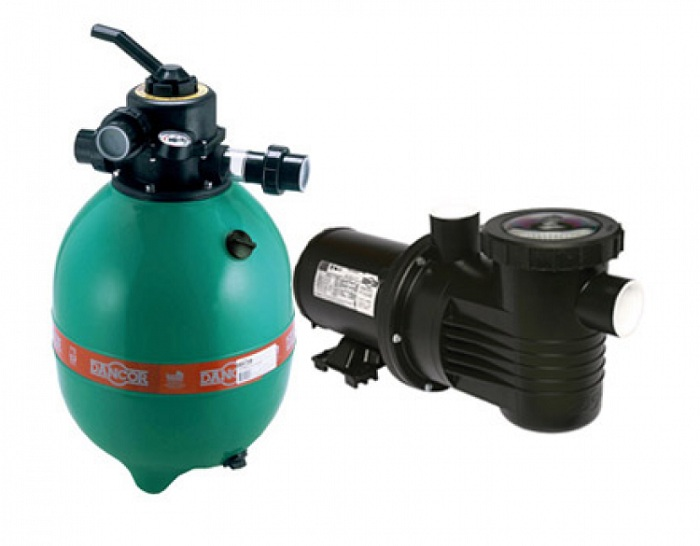 Filtro e Bomba para Piscina 1/2 CV Bivolt Mono DFR-15-7 - Dancor
