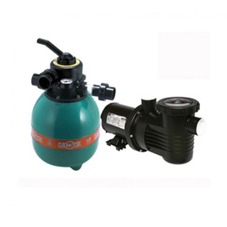 Filtro para piscina com bomba de gua 1 4 cv bivolt dancor for Filtros de agua para piscinas