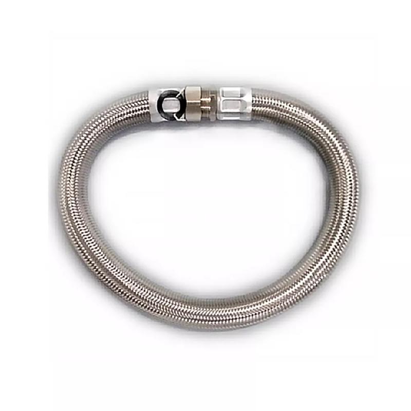 """Tubo Flexível Aço Inox 50cm 1.1/2"""" Rowa"""