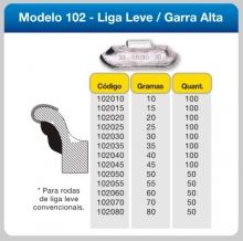 CHUMBO GARRA ALTA 5g até 60g (LIGA-LEVE) - ASSIS&ASSIS