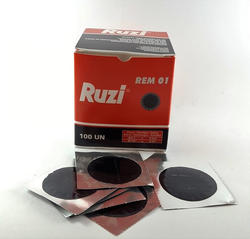 REMENDO A FRIO R 01 - RUZI - CX C/ 100 UNIDADES