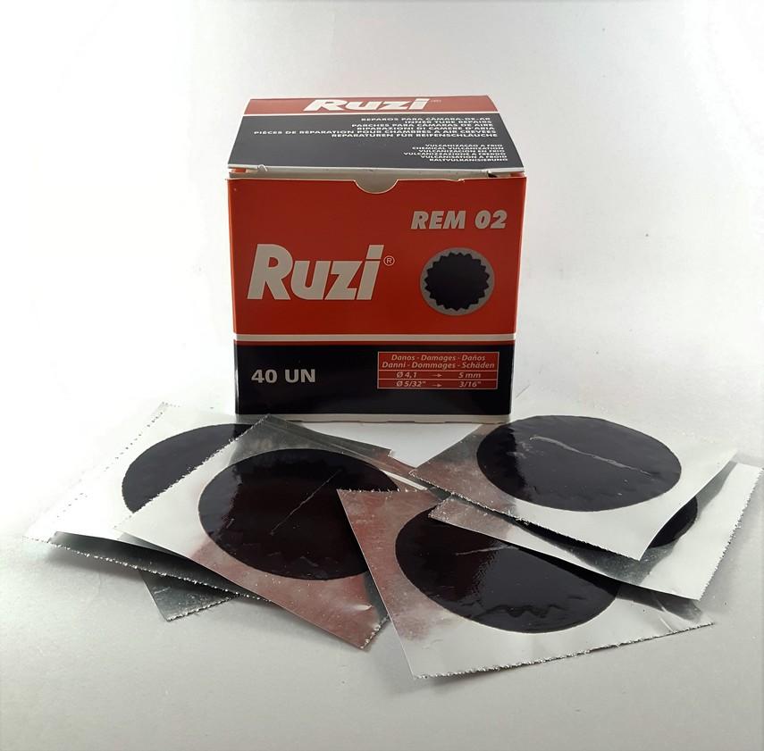 REMENDO A FRIO R 02 - RUZI - CX C/ 40 UNIDADES