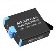 Bateria GoPro Hero8 Hero7 Hero6 Hero5 - 4.40V - 1220mAh - Li-ion - AHDBT-801