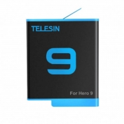 Bateria para GoPro Hero9 e Hero10 Black - 1750mAh Li-ion - Telesin