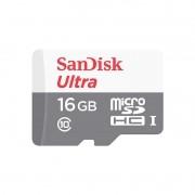 Cartão de Memória MicroSD - Sandisk Ultra 16GB 80 MB/s Classe 10