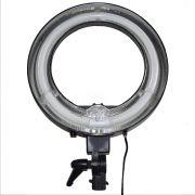 Iluminador Ring Light Anel Circular - Luz Branca 5500K - 220 Volts