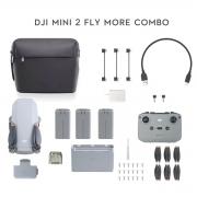 Mini Drone DJI Mavic Mini 2 - Fly More Combo - Câmera 4K