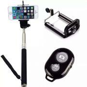 Monopod Pau de Selfie - Celular Smartphone com Controle Bluetooth