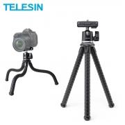 Tripe Flexível para Celular Smartphone e Câmera DSLR - Telesin