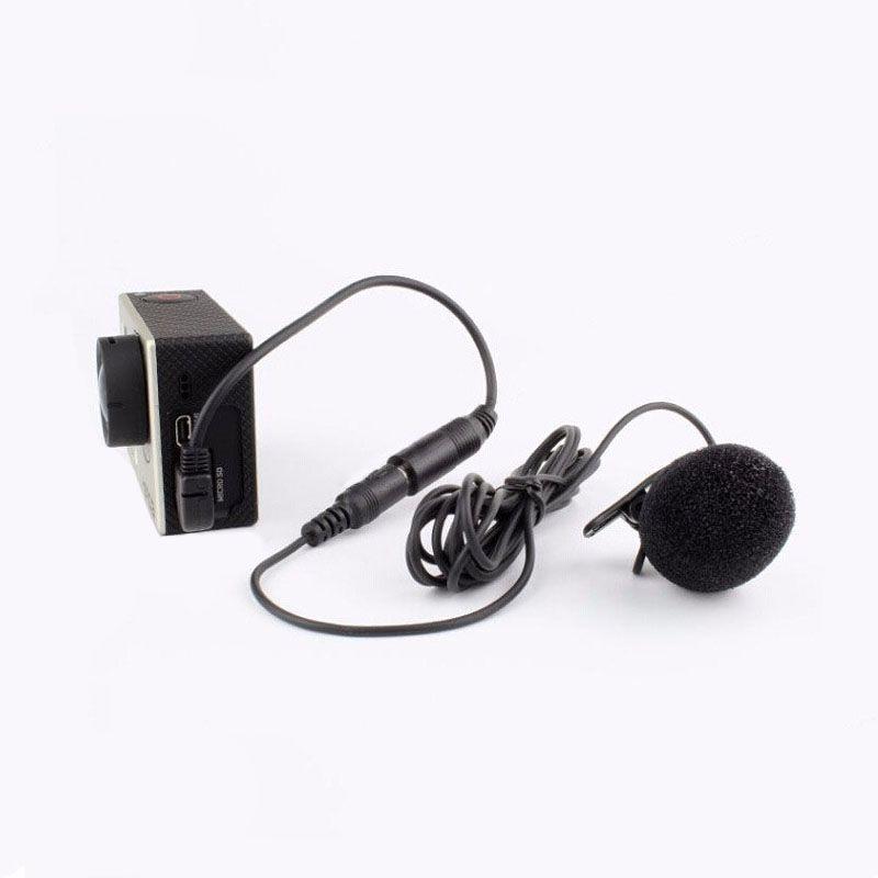 Adaptador de Microfone - 3.5mm para Mini USB - GoPro Hero3 e Hero3+
