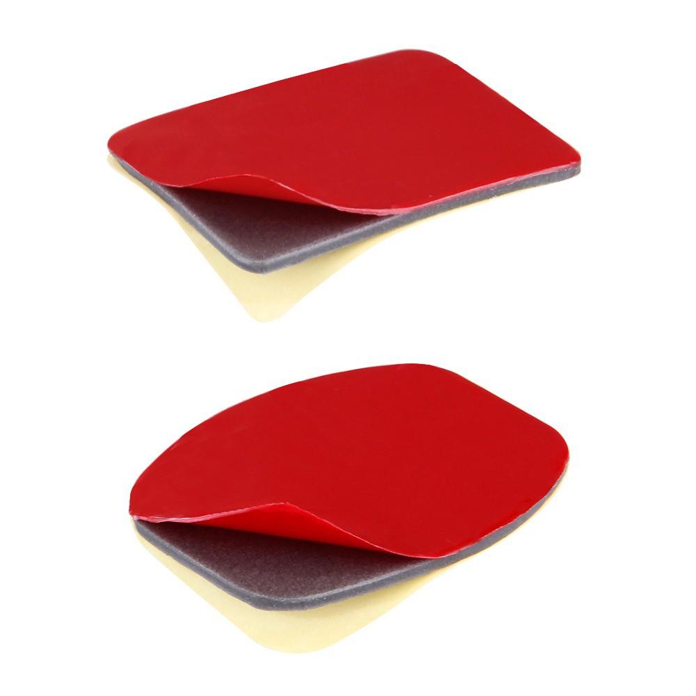 Bases de Fixação Adesiva - 3 Curvas e 3 Planas - GoPro SJCAM Yi Eken