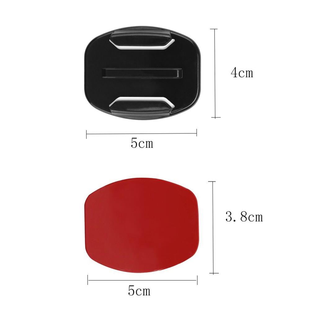 Bases de Fixação Adesiva Plana - 2 Unidades - GoPro SJCAM Yi Eken