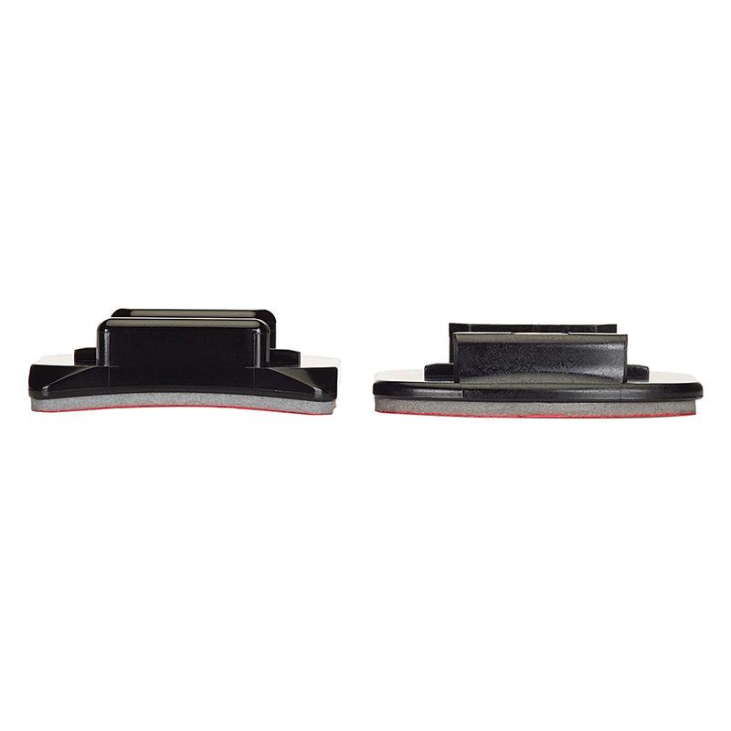 Bases de Fixação Adesiva 3 Curvas e 3 Planas - GoPro - AACFT-001