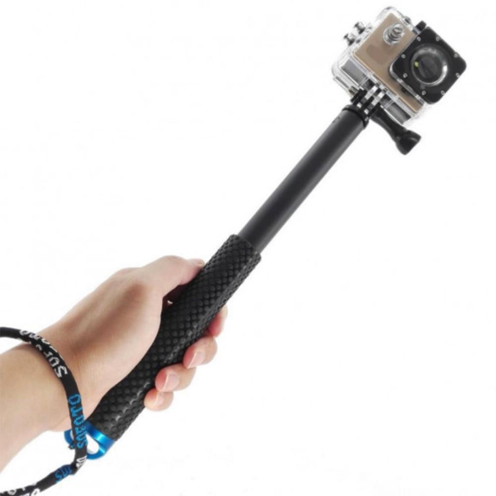 Bastão Extensor - Pau de Selfie - Monopod Fibra de Aço - GoPro SJCAM Eken