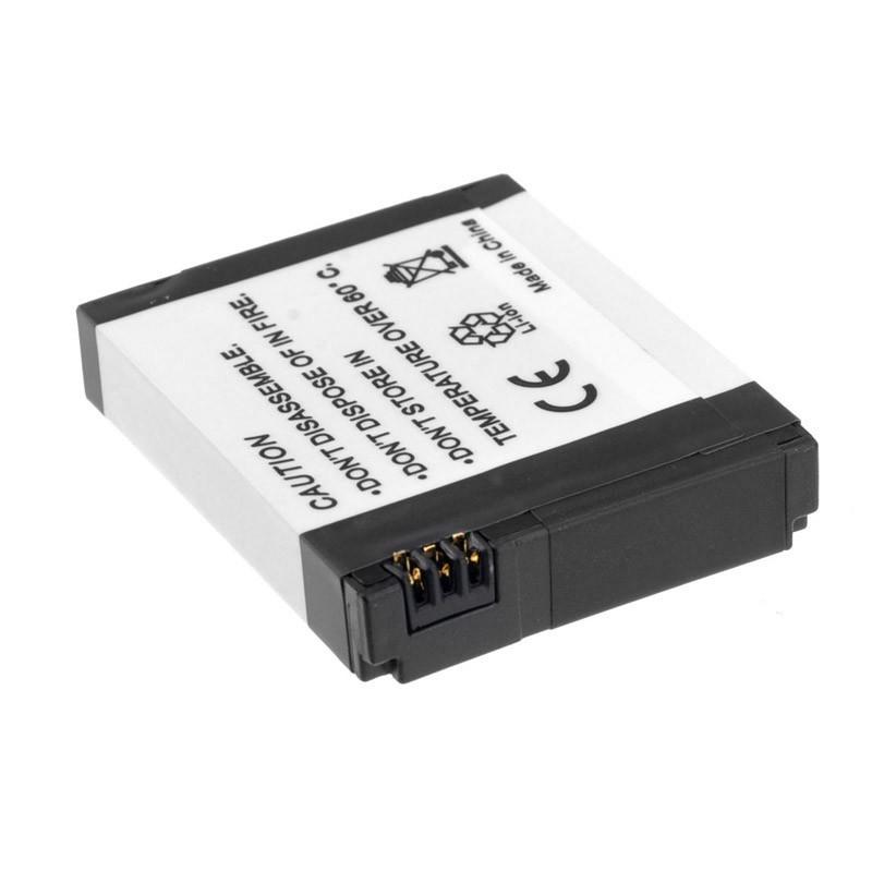 Bateria GoPro Hero1 e Hero2 - 3.7V 1100mAh - AHDBT-001 e AHDBT-002