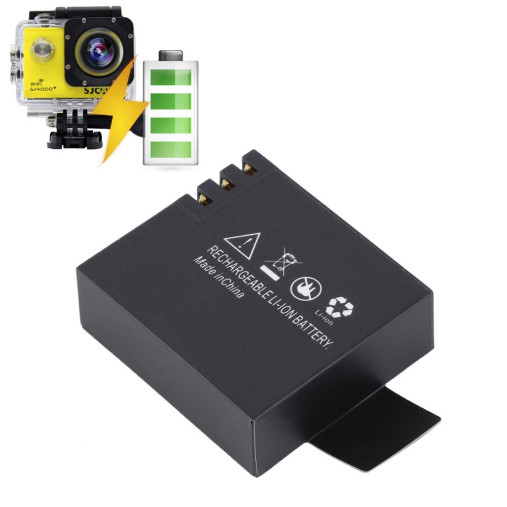 Bateria SJCAM SJ4000, SJ5000, M10, Sport CAM, HD e 4K - 3.7V - 900mAh - 3.33Wh - Li-ion