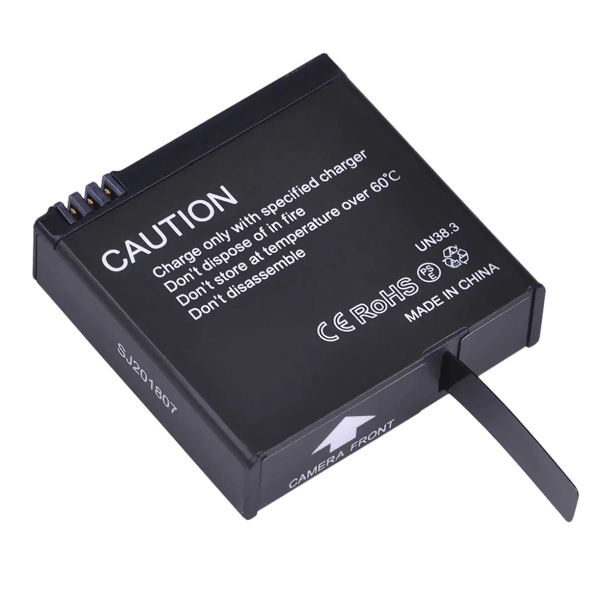 Bateria SJCAM SJ8 - 3.8V - 1200mAh - 4.56Wh - Li-ion