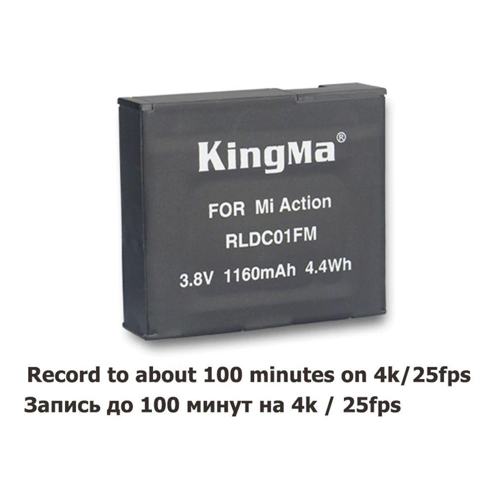 Bateria Xiaomi Mi Mijia 4K - 3.8V - 1160mAh - 4.4Wh - RLDC01FM - KingMa