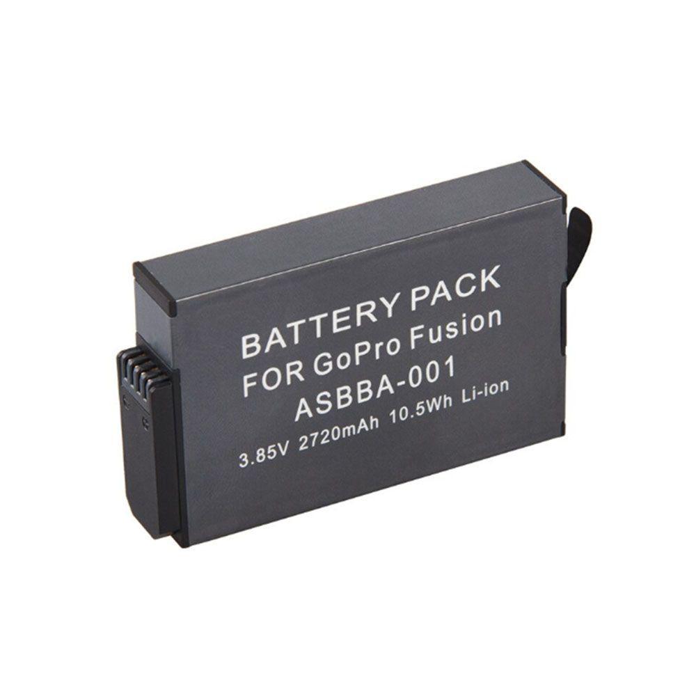 Bateria GoPro Fusion - 3.85V - 2720mAh - 10.5Wh - Li-ion - ASBBA-001