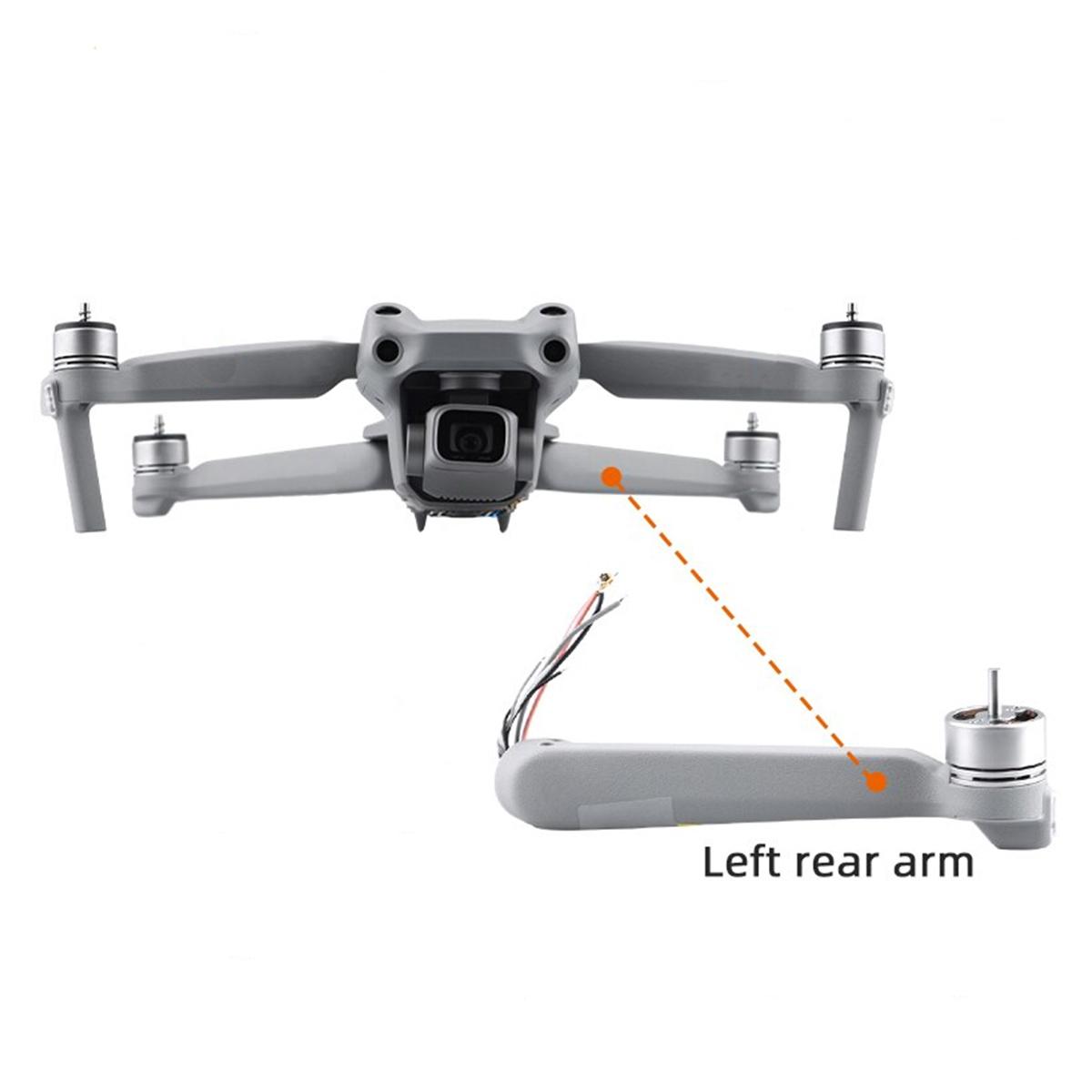 Braço com Motor - Traseiro Esquerdo - Drone DJI Mavic Air 2S