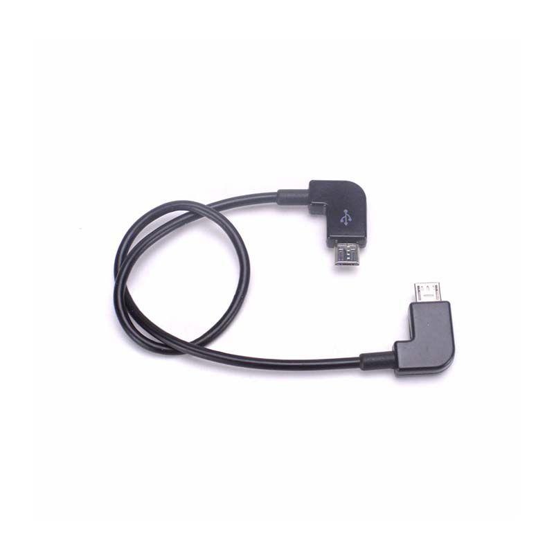 Cabo OTG Controle Remoto Drone DJI - Micro USB x Micro USB - Android