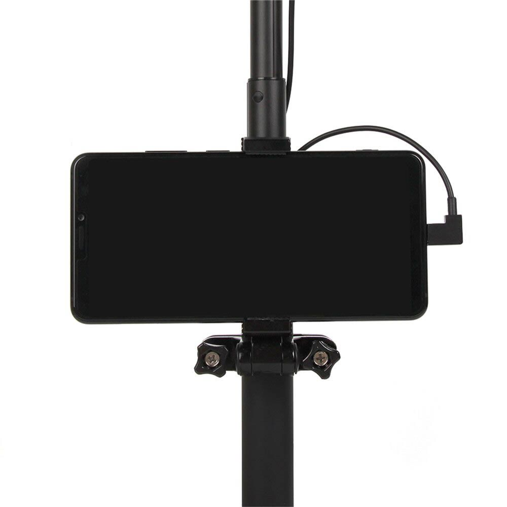 Cabo OTG Drone DJI - Osmo Pocket - Micro USB x Tipo C - 1 Metro