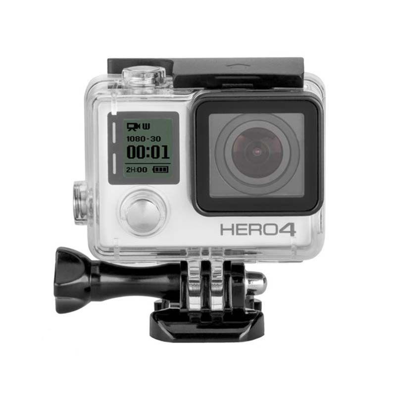Caixa Estanque - GoPro Hero3+ e Hero4 - Mergulho - 40 Metros - Telesin