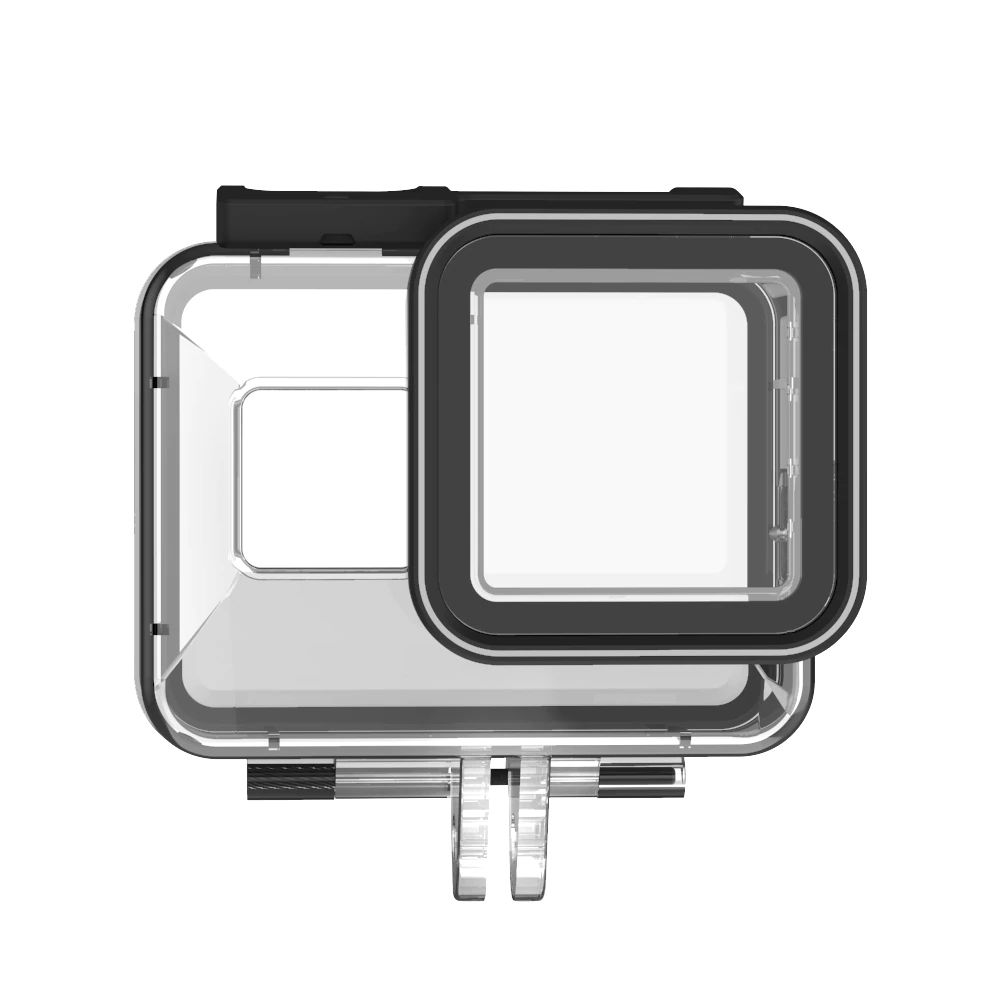 Caixa Estanque - GoPro Hero8 Black - Mergulho - 40 Metros - Telesin