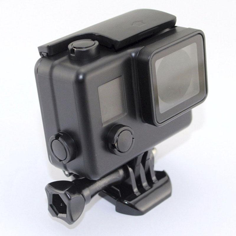 Caixa Estanque - GoPro Hero3+ e Hero4 - Mergulho - 30 Metros - Preta