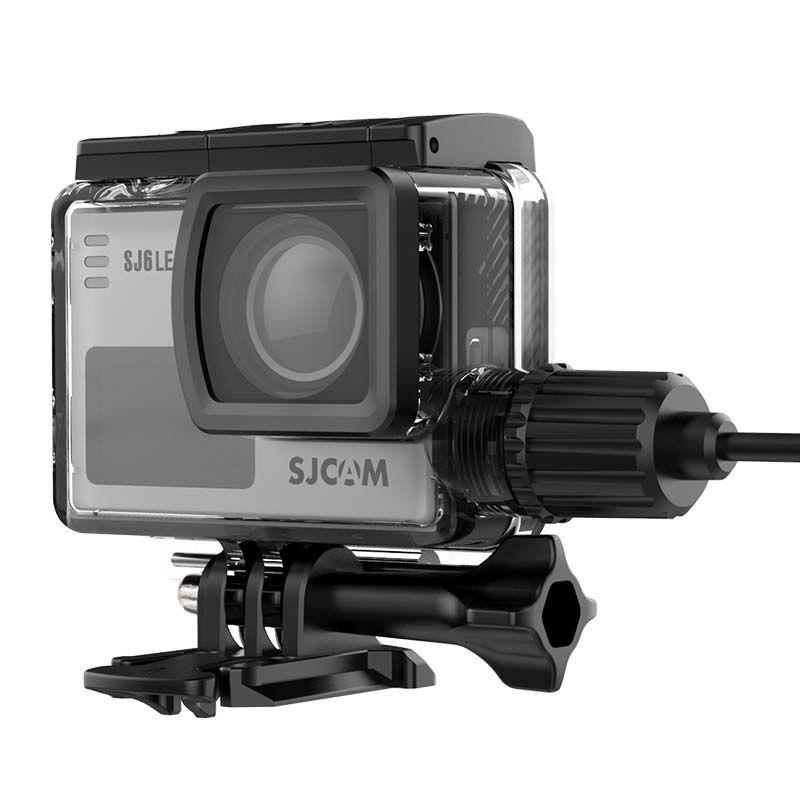 Caixa Estanque - SJCAM SJ6 Legend - Skeleton - Carregador USB