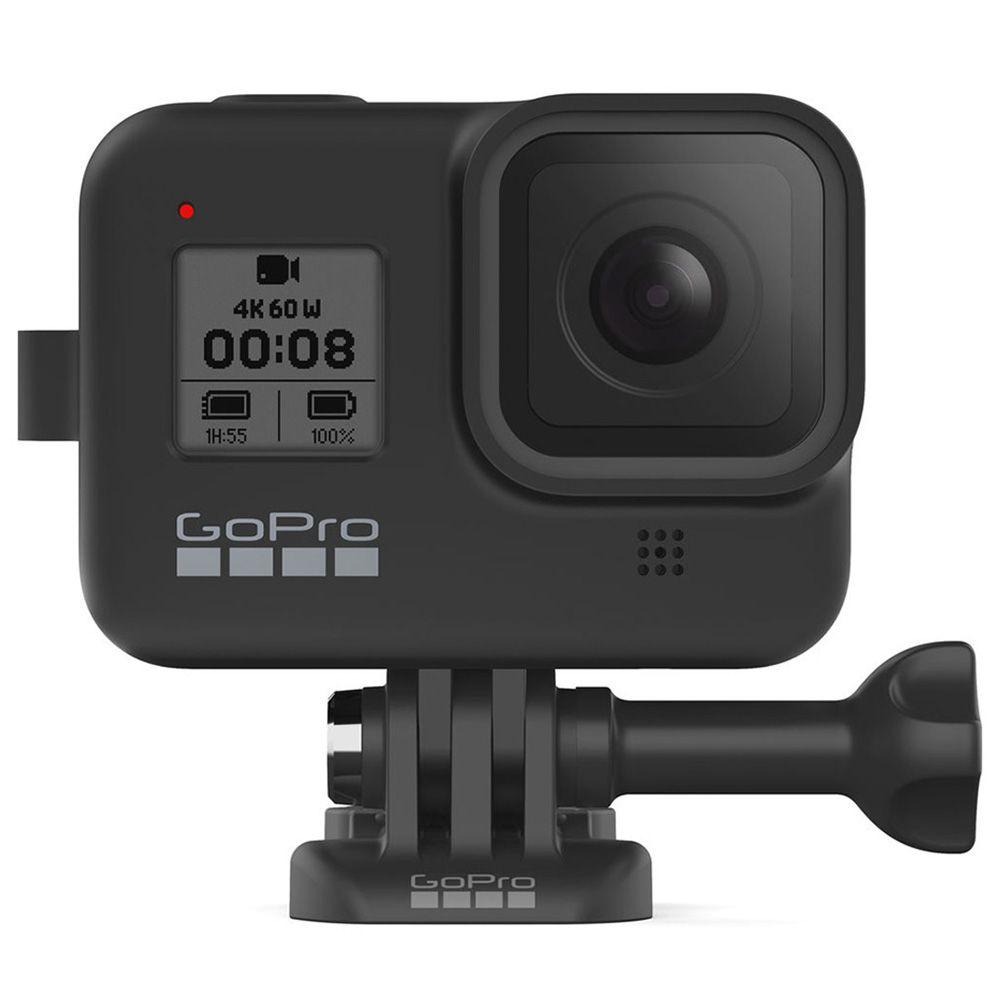 Capa de Silicone com Cordão - Sleeve - GoPro Hero8 Black - AJSST-001