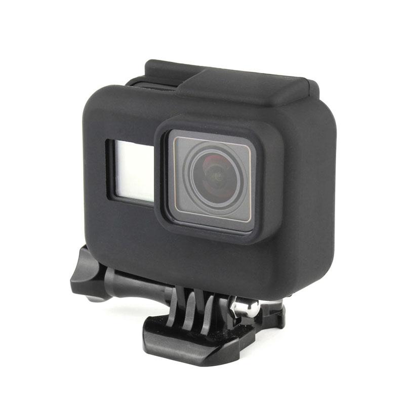 Capa Protetora de Silicone - GoPro Hero5  Hero6 e Hero7 Black - Moldura