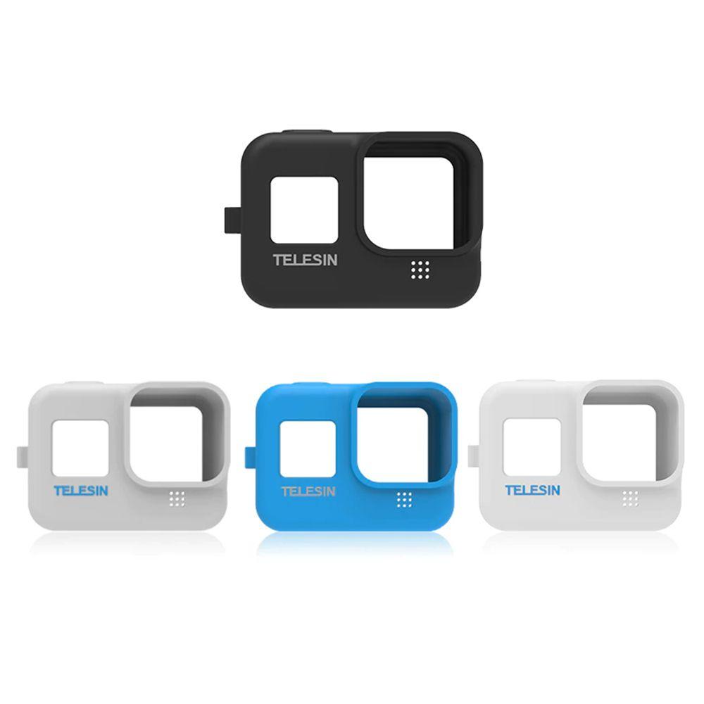 Capa Protetora de Silicone - GoPro Hero8 Black - Câmera - Telesin
