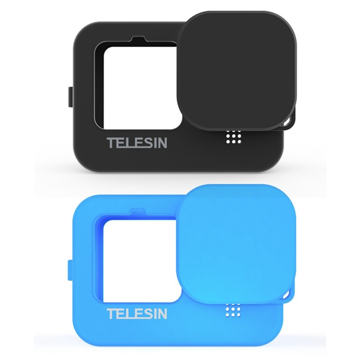 Capa Protetora de Silicone para GoPro Hero9 e Hero10 Black - Telesin