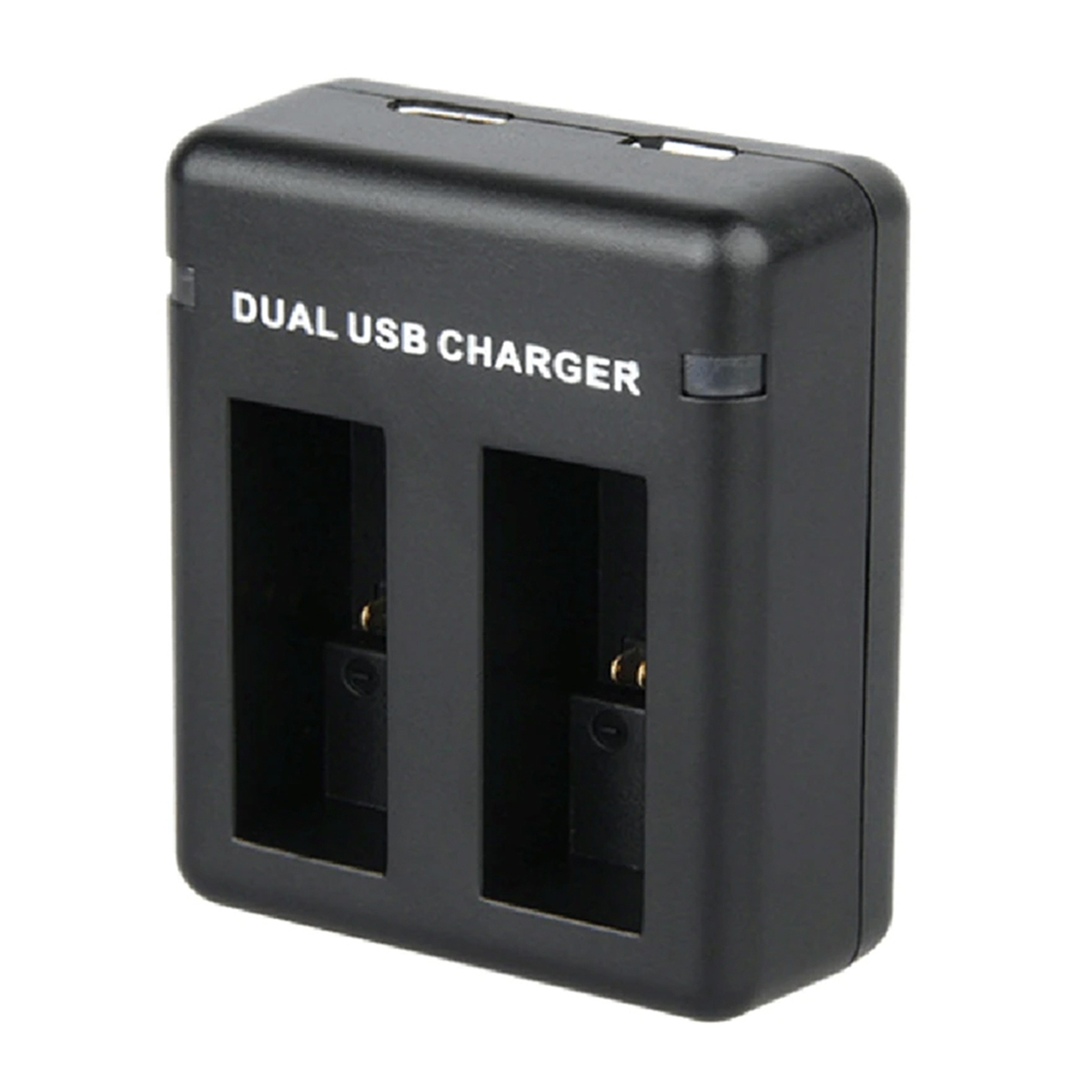 Carregador Duplo - GoPro Hero9 Black - Micro USB e USB Tipo C