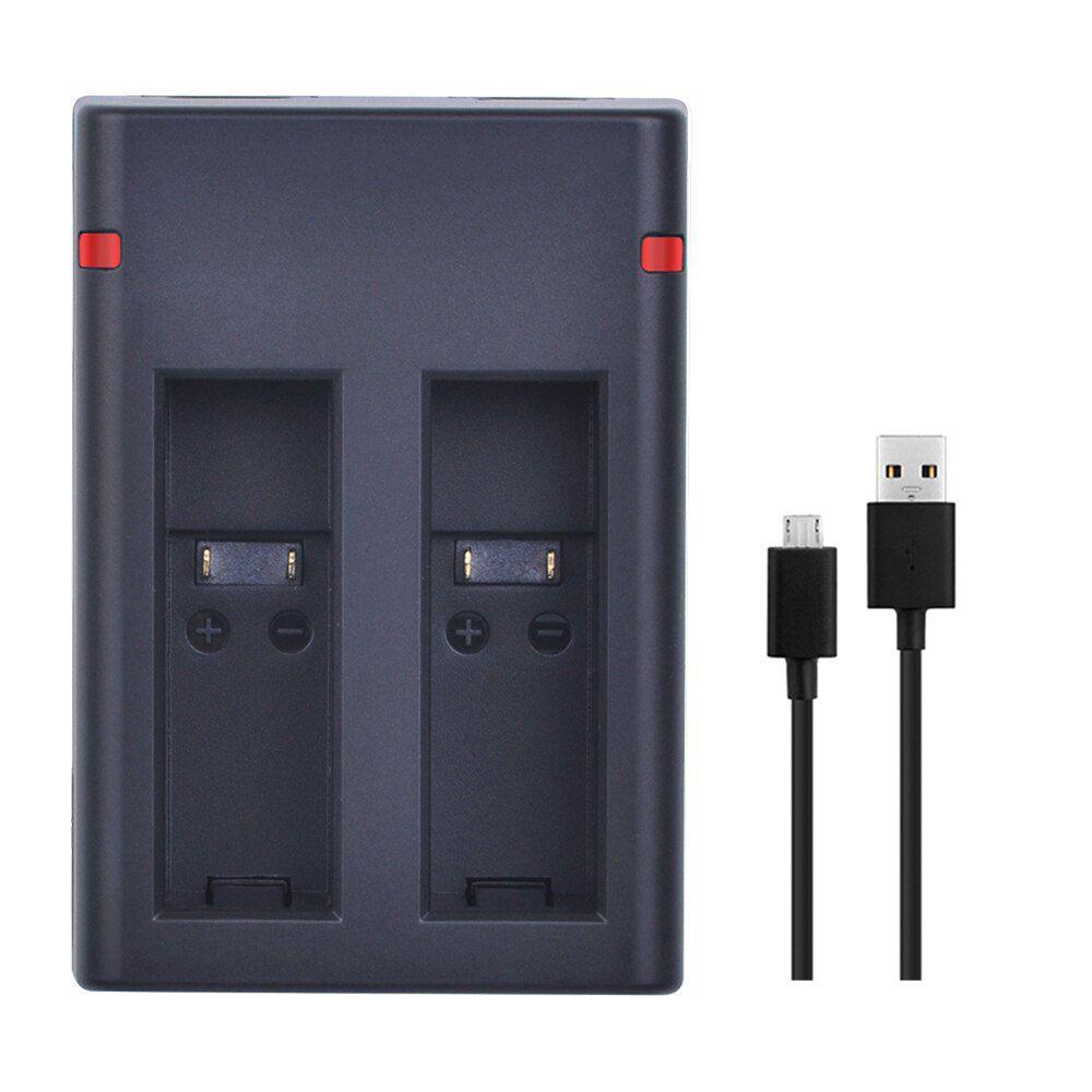 Carregador GoPro Fusion - Duplo Micro USB e USB Tipo C