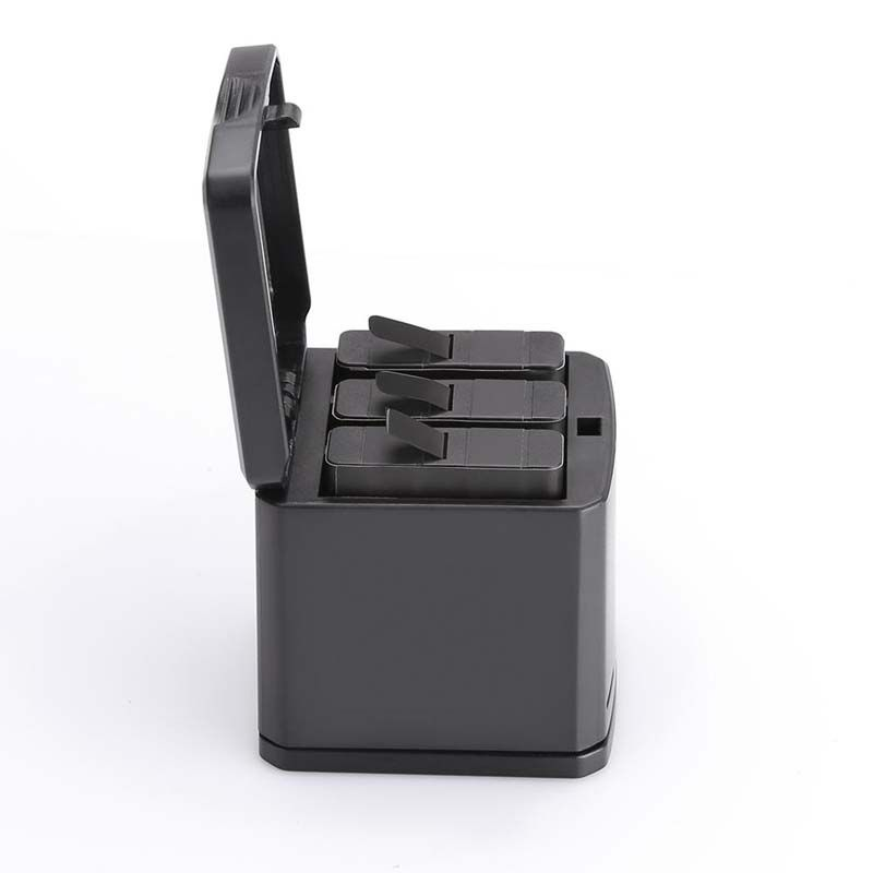Carregador GoPro Hero8 Hero7 Hero6 Hero5 - Triplo USB Tipo C - TELESIN