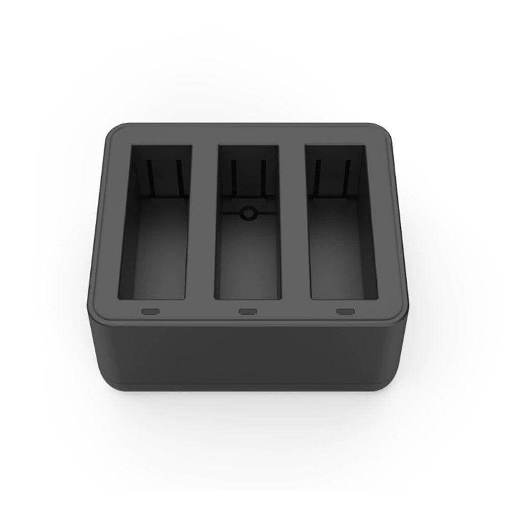 Carregador Osmo Action - Triplo - USB Tipo C - Telesin