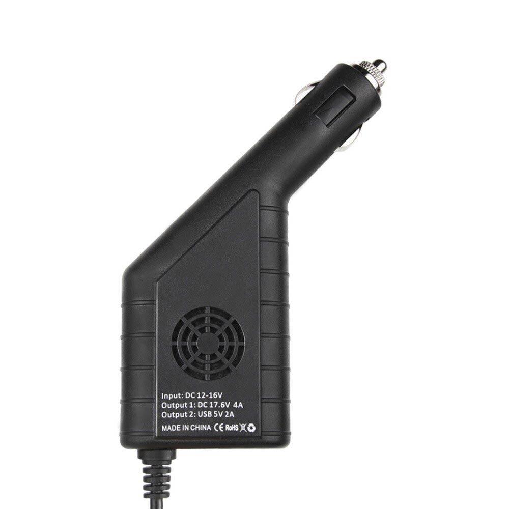 Carregador Veicular 2 em 1 - Bateria e USB - Drone DJI Mavic 2 Pro