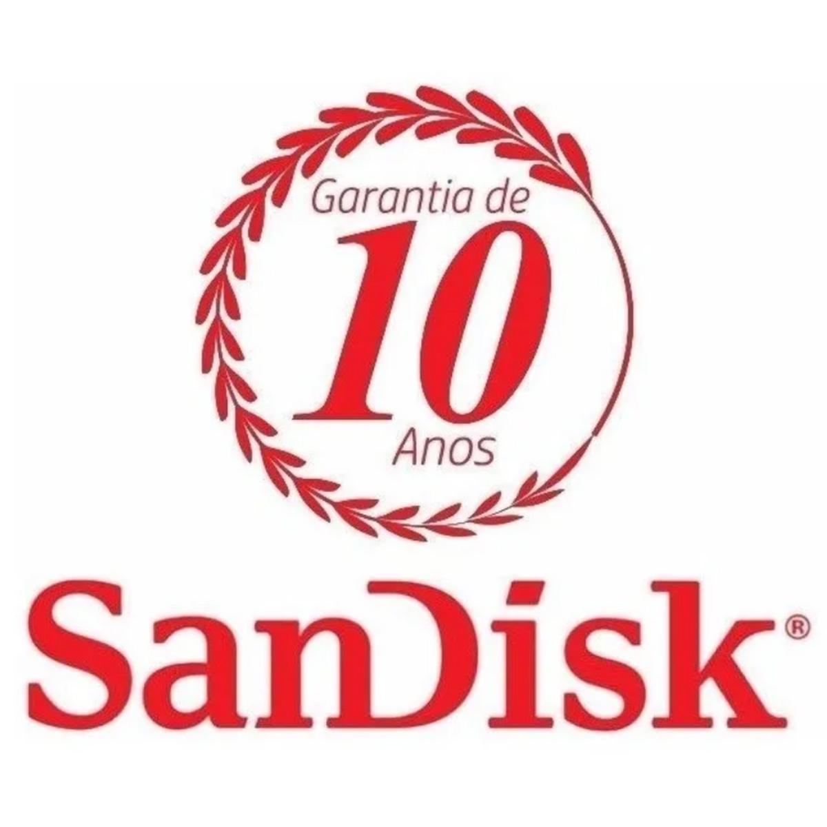 Cartão de Memória MicroSD - Ultra 128GB 100MB/s Classe 10