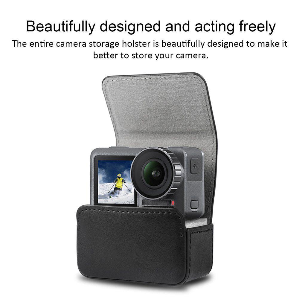 Case de Couro - GoPro e Osmo Action